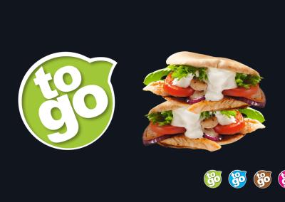 Ruokakesko - ToGo-konseptin visuaalisen identiteetin suunnittelu