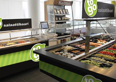 Ruokakesko - ToGo-konseptin jalkauttaminen myymälöihin