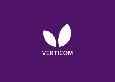 Verticom - IT-järjestelmiesi lähin hoitaja. Markkinointistrategia ja yritysilme.